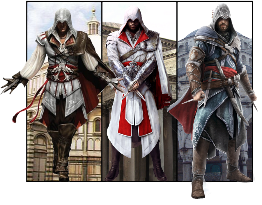 Ezio Auditore De Firenze Character Study The Short Gamer